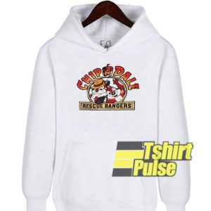 Chip n Dale Cartoon hooded sweatshirt clothing unisex hoodie
