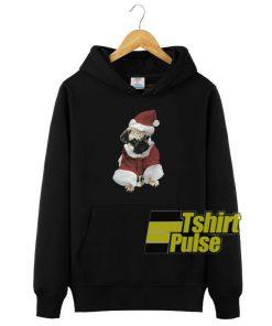 Christmas Pug Graphic hooded sweatshirt clothing unisex hoodie