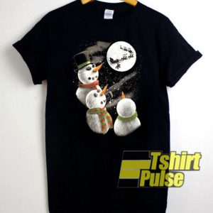 Christmas Snowman Graphic t-shirt for men and women tshirt