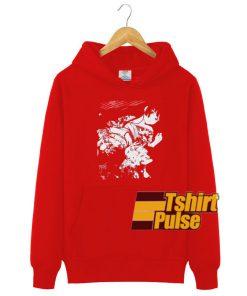 Comic Girl Print BF hooded sweatshirt clothing unisex hoodie
