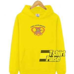 Cute And Psycho Cartoon hooded sweatshirt clothing unisex hoodie