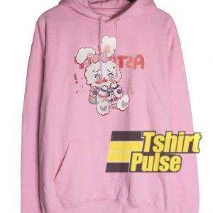 Cute Rabbit hooded sweatshirt clothing unisex hoodie