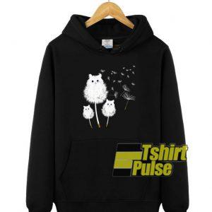 Dandelion Cat hooded sweatshirt clothing unisex hoodie