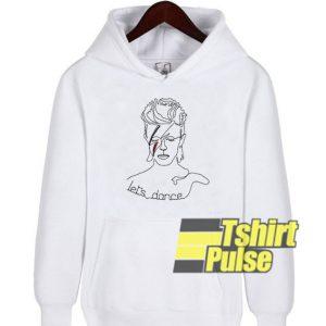 David Bowie Lets Dance hooded sweatshirt clothing unisex hoodie