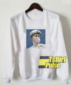 David Statue Bubblegum sweatshirt