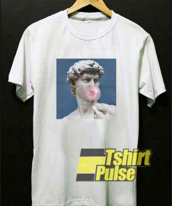 David Statue Bubblegum t-shirt for men and women tshirt