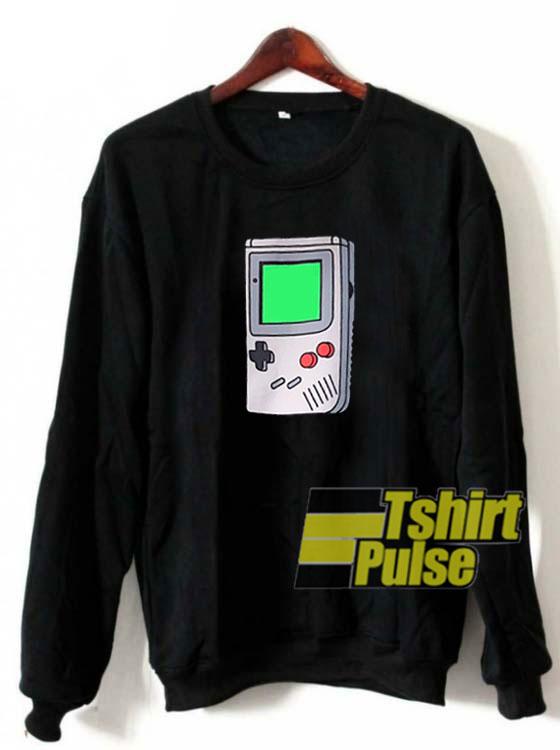 Game Boy Tools sweatshirt
