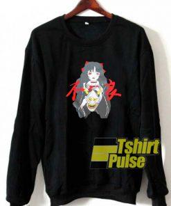 Girl And Devil sweatshirt