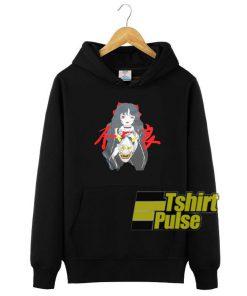 Girl And Devil hooded sweatshirt clothing unisex hoodie