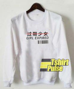 Girl Expired sweatshirt