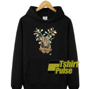 Hunter's Christmas hooded sweatshirt clothing unisex hoodie