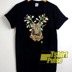 Hunter's Christmas t-shirt for men and women tshirt