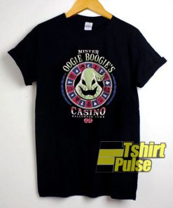 Mister Oogie Boogie Casino t-shirt for men and women tshirt