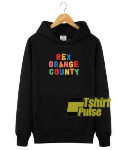 Rex Orange County hooded sweatshirt clothing unisex hoodie