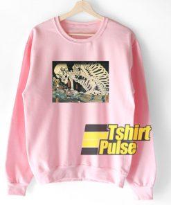 Skeleton Japan sweatshirt