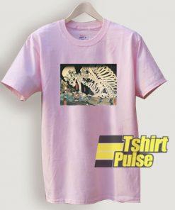 Skeleton Japan t-shirt for men and women tshirt