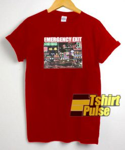 Street Emergency Exit t-shirt for men and women tshirt