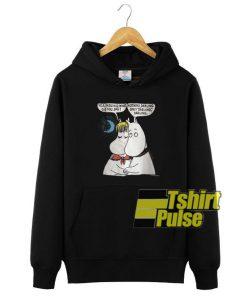 The Moomin Darling hooded sweatshirt clothing unisex hoodie