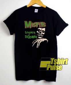 Misfits Legacy of Brutality t-shirt for men and women tshirt