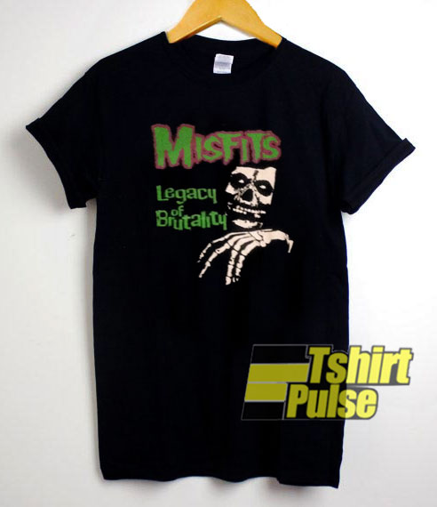 Misfits Legacy of Brutality t shirt for men and women tshirt