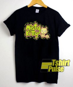 Misty Kitty t-shirt for men and women tshirt
