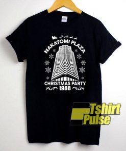 Nakatomi Plaza t-shirt for men and women tshirt