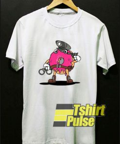 Police Donut t-shirt for men and women tshirt