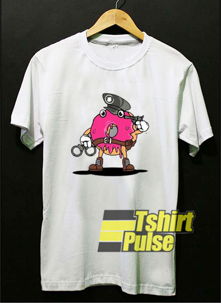 Police Donut t shirt for men and women tshirt
