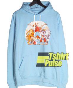 Queen Pigment Dye hooded sweatshirt clothing unisex hoodie
