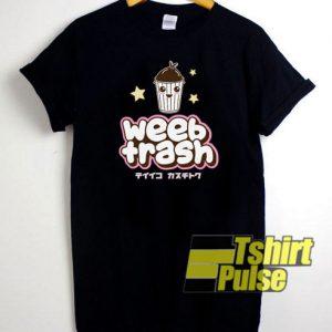 Weeaboo Trash t-shirt for men and women tshirt