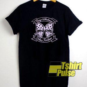 Boys Whatever Bows Forever t-shirt for men and women tshirt