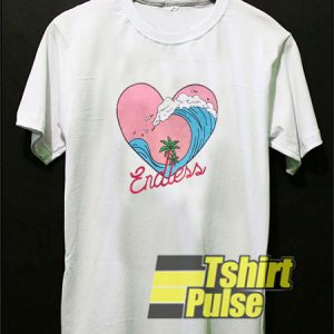 Endless Wave Heart t-shirt for men and women tshirt