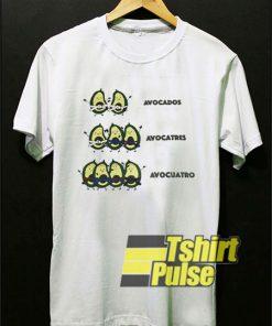 Funny BJJ Avocado t-shirt for men and women tshirt