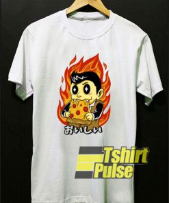 Hot Spicy Pizza t-shirt for men and women tshirt