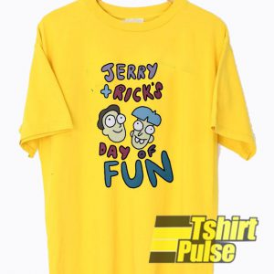 Jerry and Rick's Day Of Fun t-shirt for men and women tshirt
