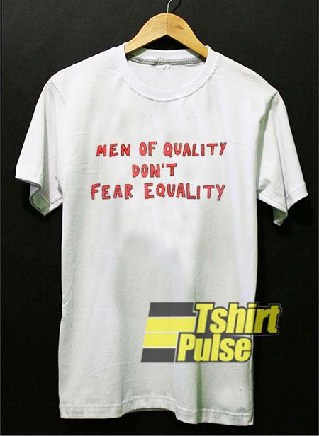 Men Of Quality t-shirt for men and women tshirt