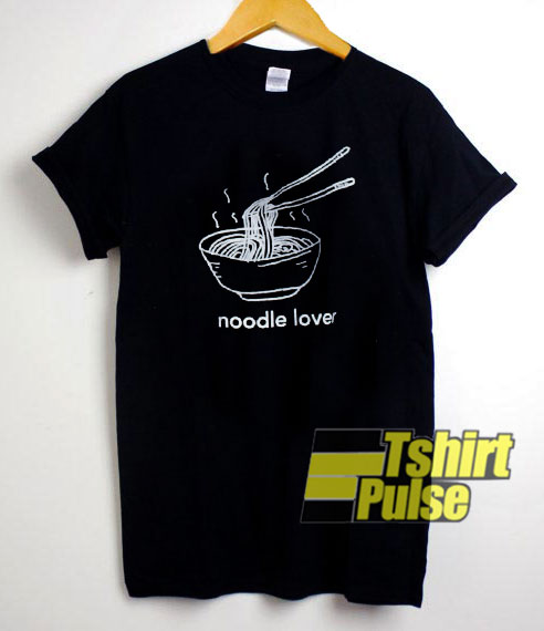 Noodle Lover Art t-shirt for men and women tshirt