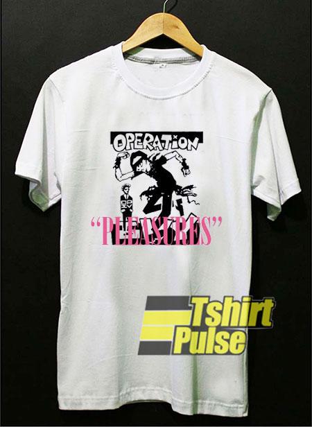 Operation Pleasures t shirt for men and women tshirt