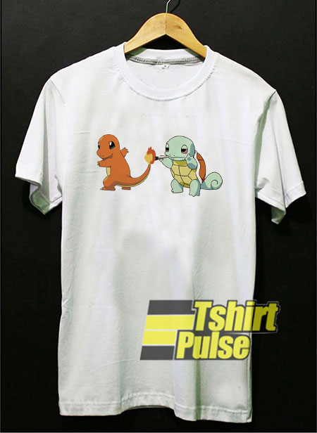 Power Dino Cartoon t-shirt for men and women tshirt