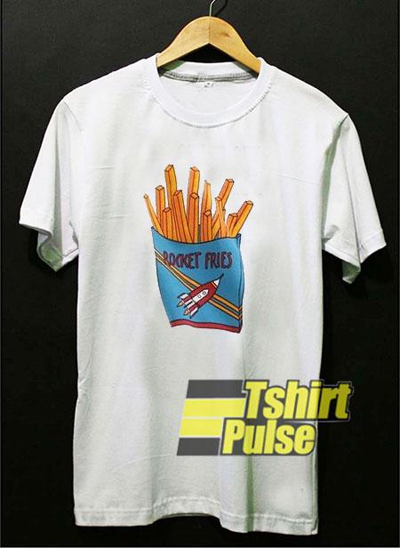 Rocket Fries t-shirt for men and women tshirt