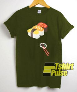 Sushi Graphic Cartoon t-shirt for men and women tshirt
