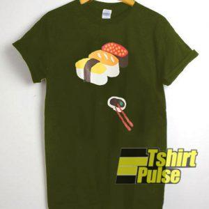 Sushi Graphic Cartoon t-shirt for men and women tshirt