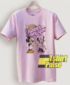 Sweet On You Minnie Mouse t-shirt for men and women tshirt