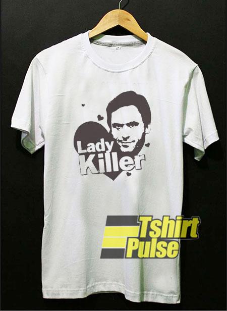 Ted Bundy Lady Killer t-shirt for men and women tshirt