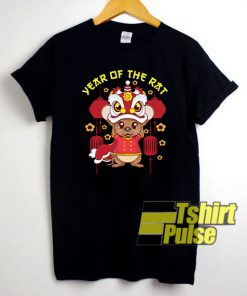 Year Of The Rat Chinese t-shirt for men and women tshirt