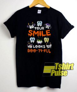 Your Smile Looks Boo-ti-ful t-shirt for men and women tshirt