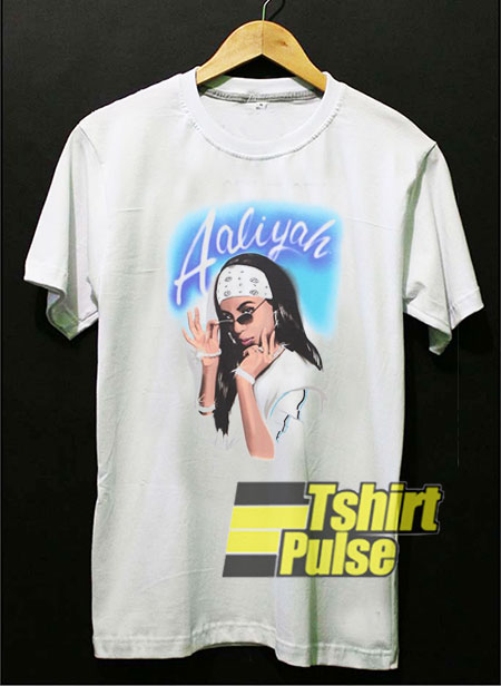 Aaliyah Airbrush t-shirt for men and women tshirt