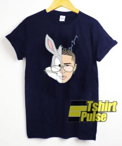 Bad Bunny Rabbit t-shirt for men and women tshirt