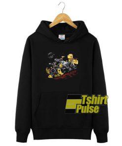 Bots Before Time hooded sweatshirt clothing unisex hoodie