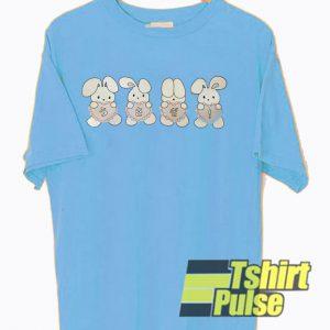 Bunny Usagi Japanese t-shirt for men and women tshirt